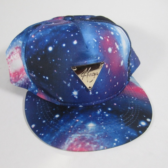 769bc213 Hater Snapback Galaxy Design, Like New